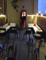 Le Caire Lounge Long Island New York Williston Park Outdoor Backyard Patio Beer Garden Hookah Bar